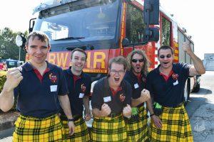 Clan-Foto Scottish Fire and Rescue Service