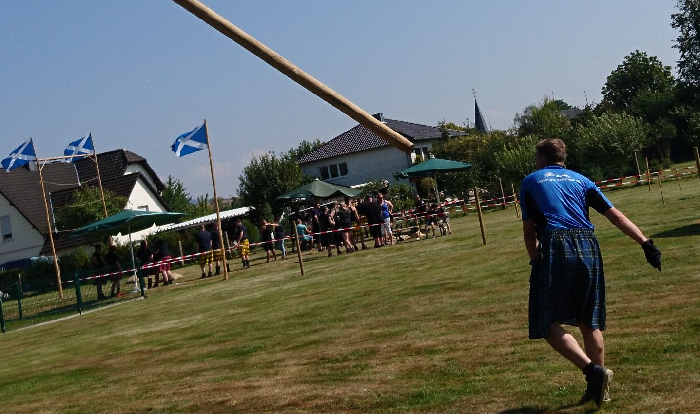 Tossing the Caber 2019