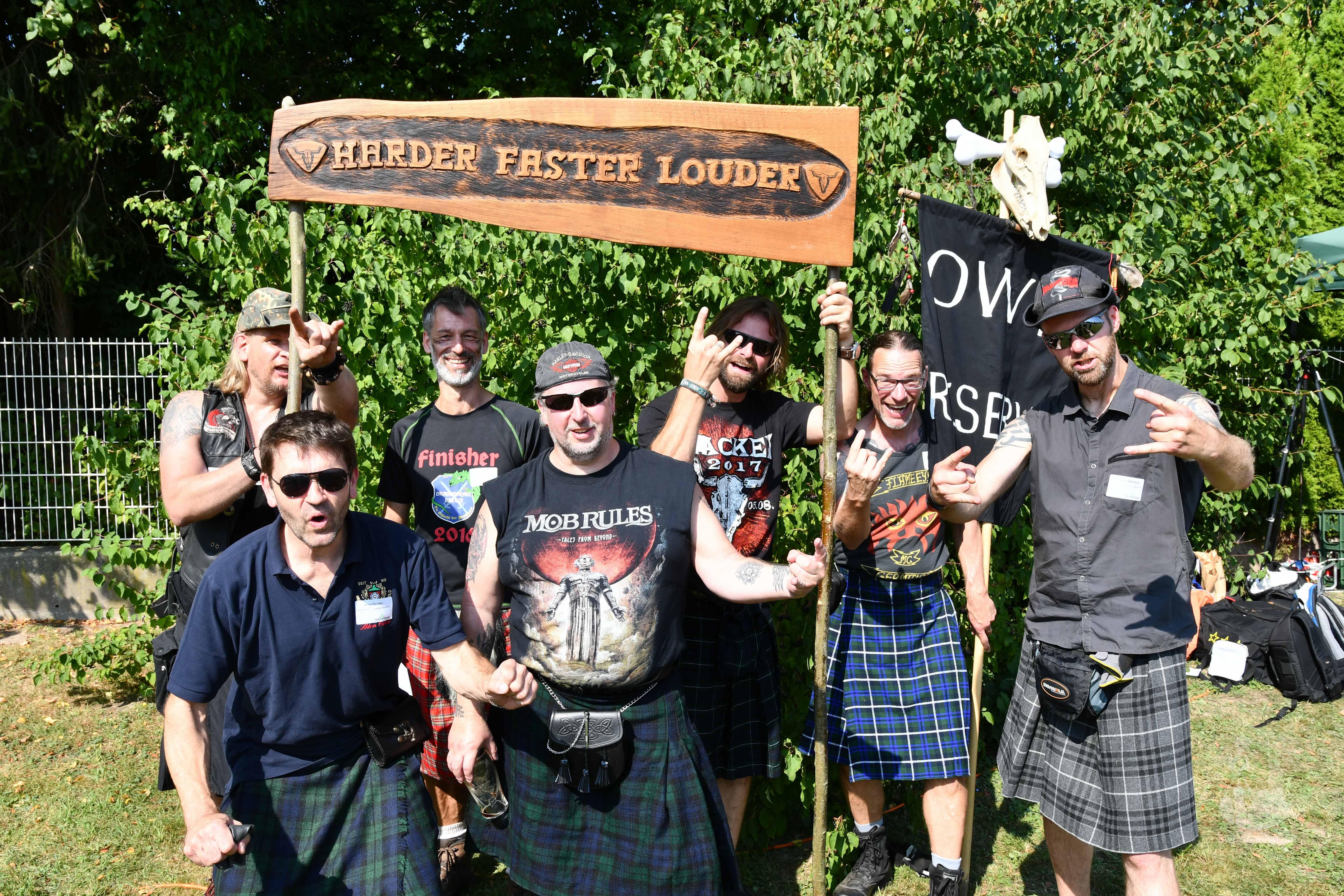 Clan-Foto Ostwestfalens letzte Reserve