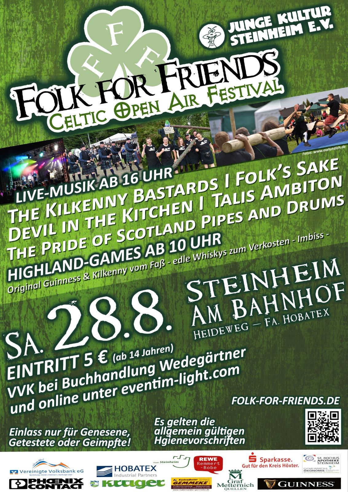 Folk for Friends Plakat 2021